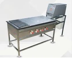 Stainless Steel Chapati Puffer Table, Model: CPT