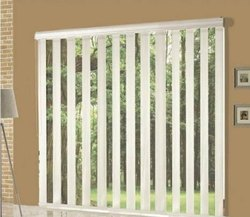 PVC Vertical Window Blinds, For Interior