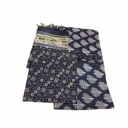 Ladies Chanderi Unstitched Katan Printed Suit