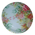 Round Silver Paper Plate Raw Material