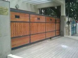 Residential Wooden Gate