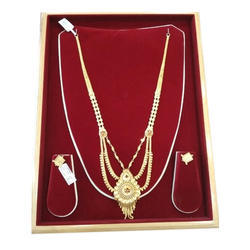 Necklace and Earring Gold Plated Imitation Jewelry