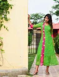 Lahariya Georget Anarkali Pattern Cotton Inner Kurtis