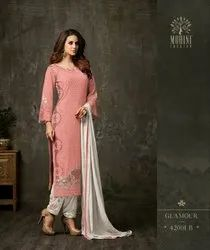 Mohini Fashion Glamour Georgette Suit Fabric Collections