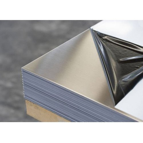 Silver Aluminum Sheets Thickness 0 75 Mm To 125 Mm Rs