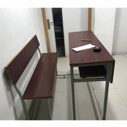 School Benches With Desk