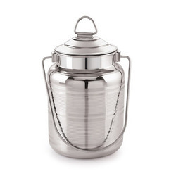 Stainless Steel Barni, Capacity: 1 To 5 Litre