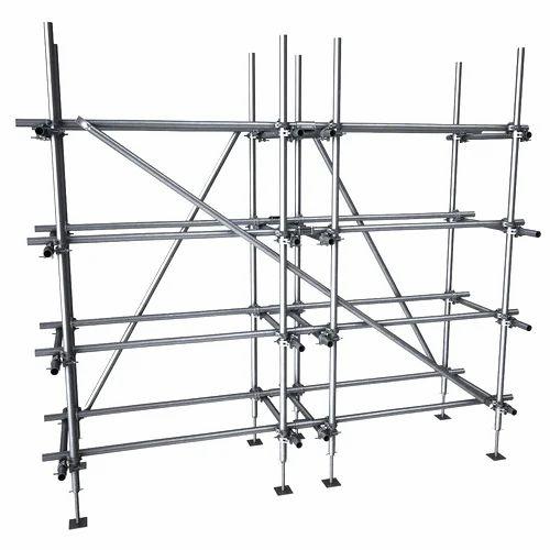 Silver Steel Scaffolding Rs 50 Kilogram Omaxe Steel Equipments
