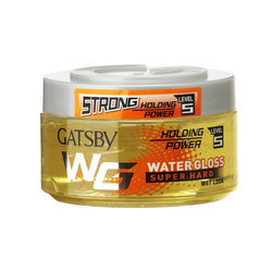 Gatsby Water Gloss Super Hard, Yellow Hair Gel