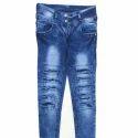 Mens Lycra Jeans