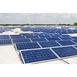 Poly Crystalline Solar Power Panels, Operating Voltage: 12 V