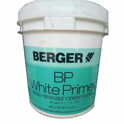 Berger White Primer Paint For Bare Metal