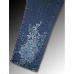 Engraving On Jeans