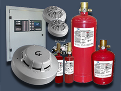 Fire Suppression And Fire Alarm System