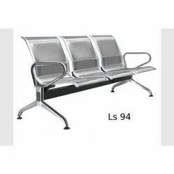 LS 94 SS Three Seater Waiting Chair