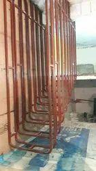Mild Steel Straight Run Staircase