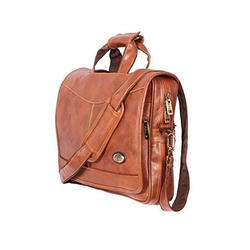 Leather Brown Rust Laptop Briefcase