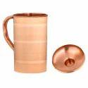 Copper Jug Silver Touch