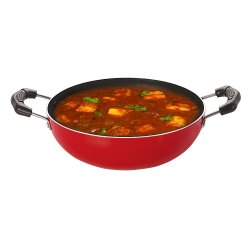 OEM Deep Frying Kadai For Cooking At Home Kitchen, 3 Layer Nonstick Coating Cookware Small