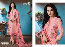 Nayaab Unstitched Salwar Suit