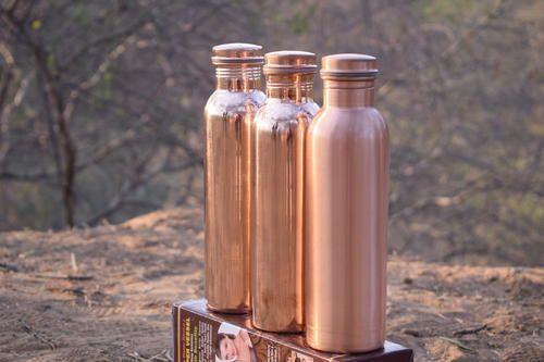 10b04e3bb25 Copper Culture Plain Luxury Copper Fridge Bottle
