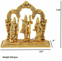 Gold Plated Ram Darbar Frame
