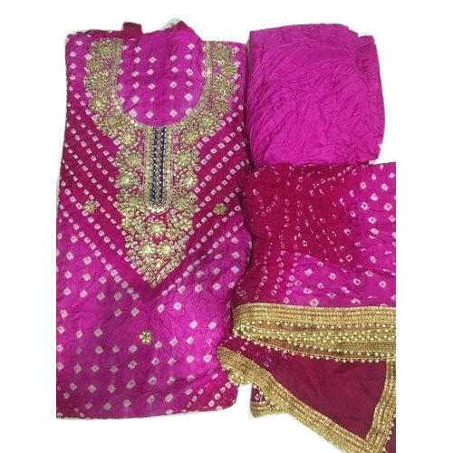 e21d097a3c Cotton Pink Ladies Suit Material, Rs 1250 /piece, Peaches | ID ...