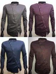 Drake Cotton Men Designer Plain Shirt