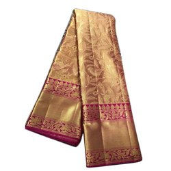Kanchipuram Wedding Silk Sarees, 6.25 Meters(Running blouse), Hand Made