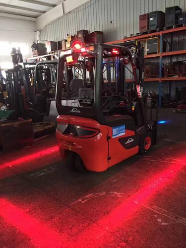 Forklift Red Zone Warning Light