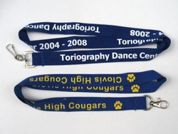 Screen Printed Lanyard