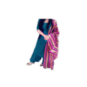 Punjabi Suit With Multicolored Dupatta