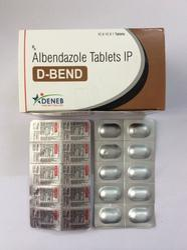 Albendazole 400 mg.(D- Bend Tablet)