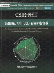 CSIR-NET General Aptitude- A New Outlook 5th Edition