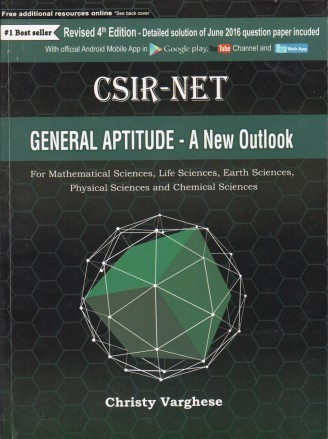 Csir Net General Aptitude A New Outlook 5th Ed