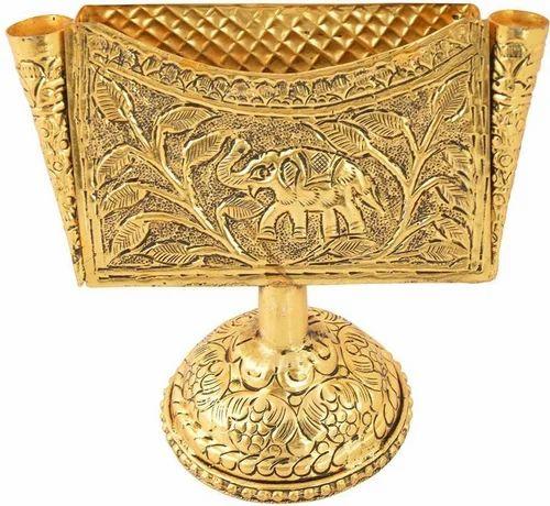 45217ee0c Decorative Showpiece Carving Work - Bharat Handicrafts Gold Plated  Manufacturer from Jaipur