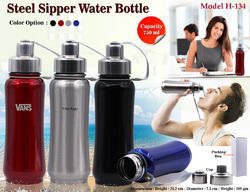 Steel Sipper Water Bottle H-134