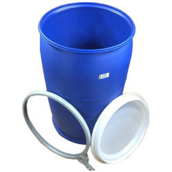 Blue 1 HDPE Open Top Drums, For Water, Oil, Capacity: 150 L
