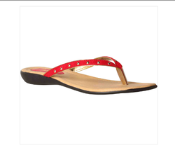 30c4dbad1 Red Bata Women Everydaystyle Flats Sandals