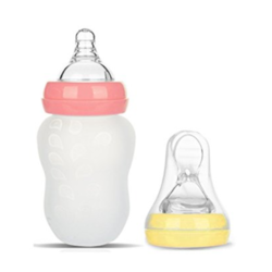 Baby Care Silicone Nipples & Bottles