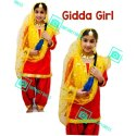 Punjabi Gidha Dress