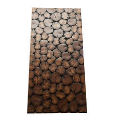 Brown Modern Wooden Wall Tiles, 20-25 mm, Size (In cm): 60 X 60 cm
