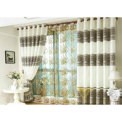 Printed Designer Curtain For Drawing Room, For Window