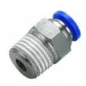 Push Male Conector