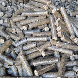 Groundnut Shells White Coal Biomass Briquette
