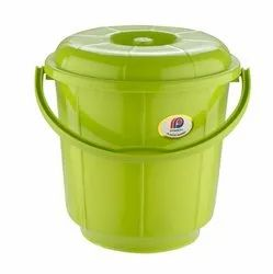 Plastic Handle Bathroom Bucket 5Ltr