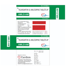 Telmisartan 40Mg Amlodipine 5mg Tablets
