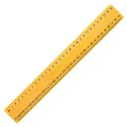 Meter Wooden Scale