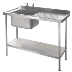 Dish Wash With Single Sink