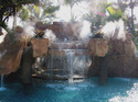 Fountain Misting System